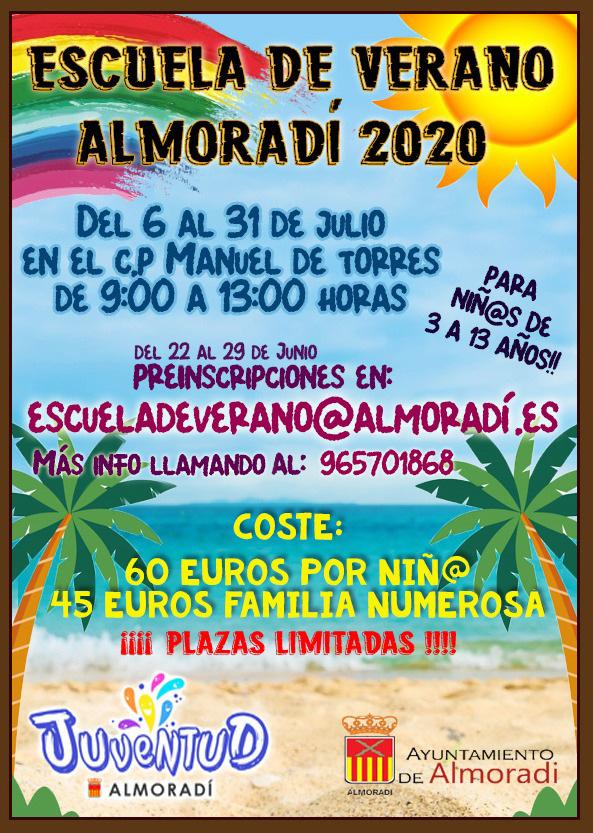 Almoradí abre el plazo de inscripción para las escuelas de verano 6