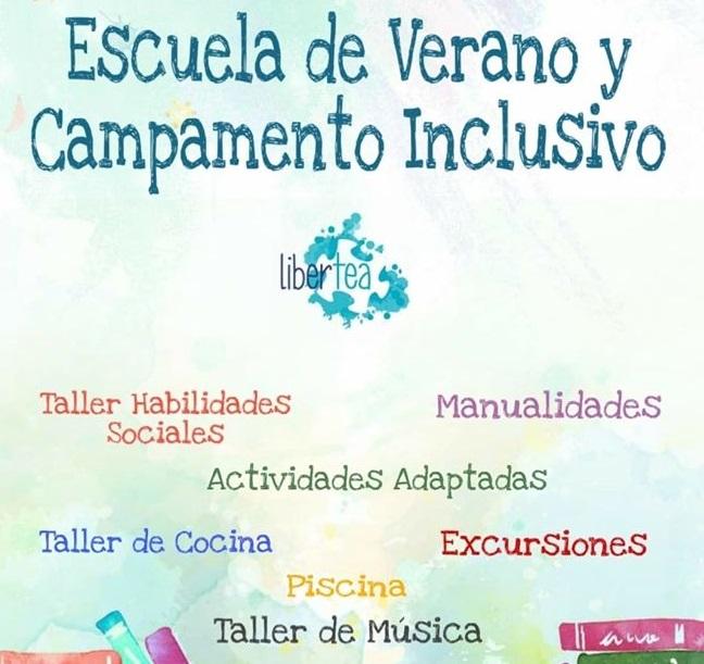 """Un """"clic"""" ayudará a que LiberTEA acceda a una escuela de verano y campamento inclusivo 6"""