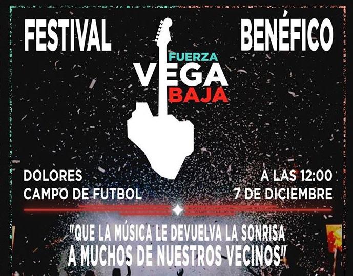 Dolores acogerá el Festival Fuerza Vega Baja a beneficio de los damnificados por la DANA 6