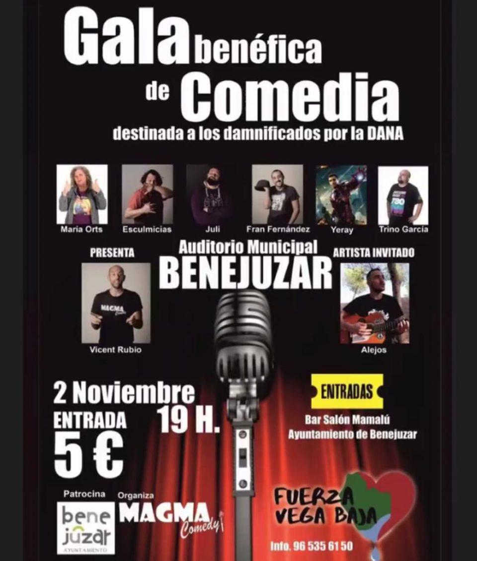 Magma Comedy organiza una noche de humor en favor del CEE Antonio Sequeros 6