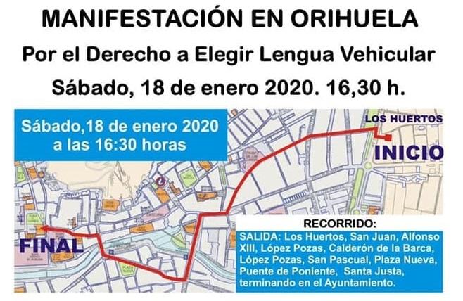 Autobuses gratuitos desde Torrevieja para acudir a la manifestación del 18 de enero 6