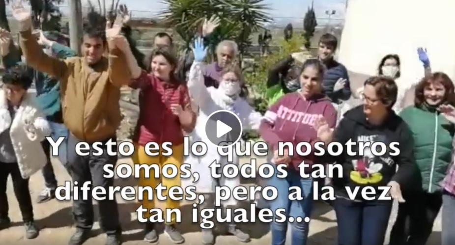 El Centro Ocupacional y Residencia Oriol lanza mensajes de ánimo a través de un vídeo 6