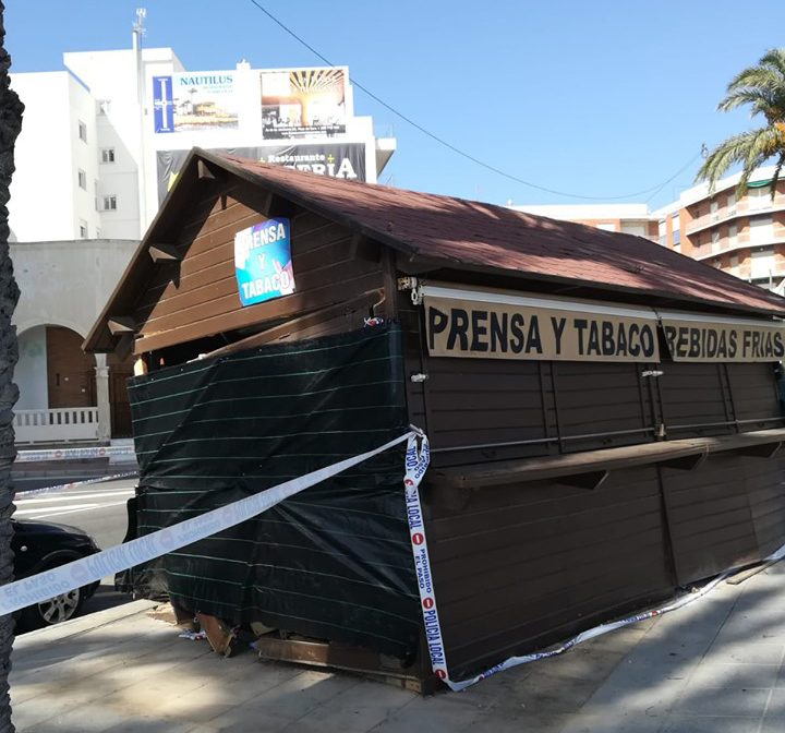 Sueña Torrevieja denuncia el mal estado del Paseo Juan Aparicio 6