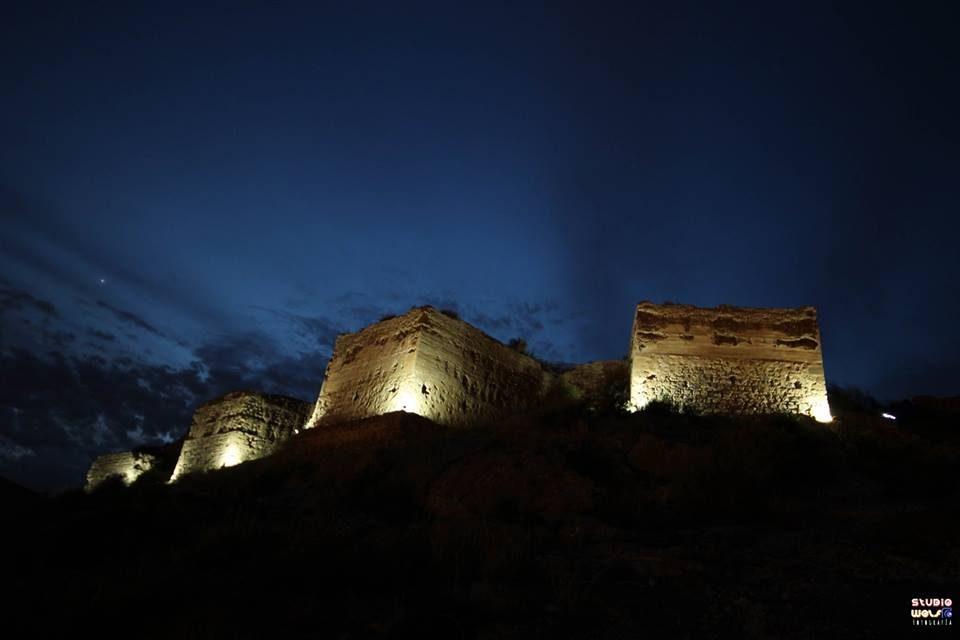Luz en el Castillo de Orihuela 6