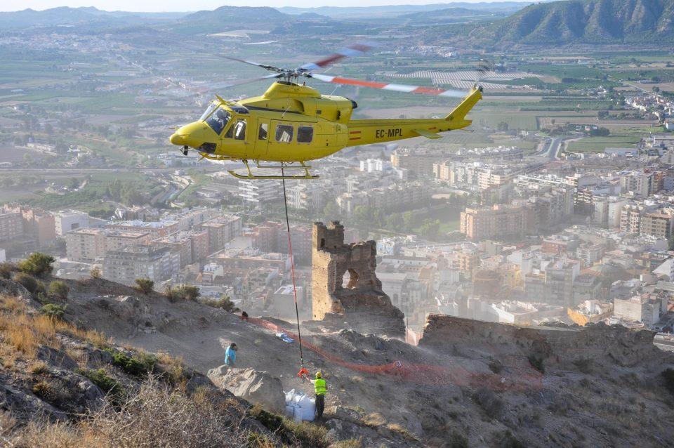 El Ayuntamiento recibe una subvención de 40.000€ para las obras en la torre de la muralla 6