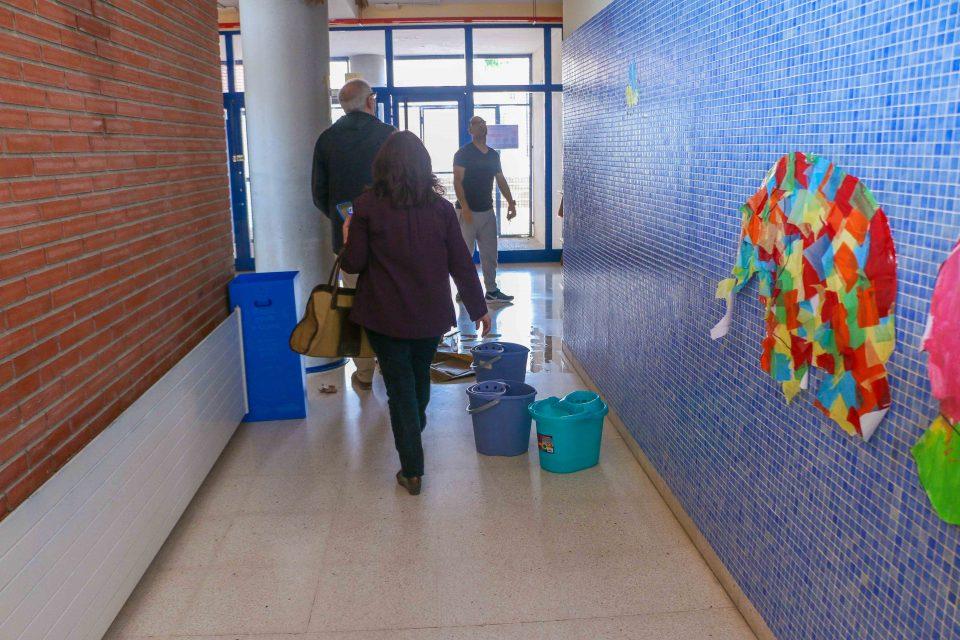 El CEIP Romualdo Ballester de Torrevieja, afectado por las lluvias del fin de semana 6