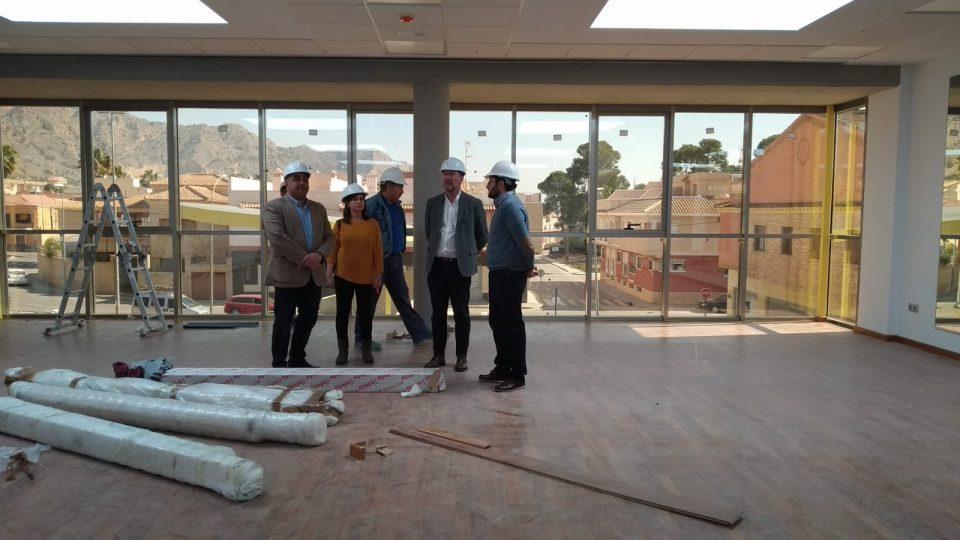 A punto de finalizar las obras del Centro Cívico de la Aparecida 6