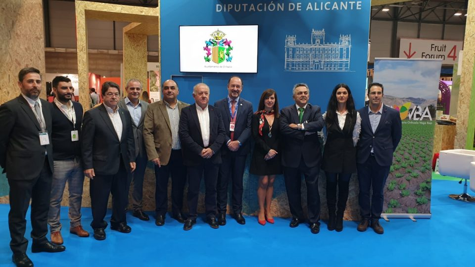 Orihuela impulsa la unión del sector agroalimentario en Fruit Attraction 6