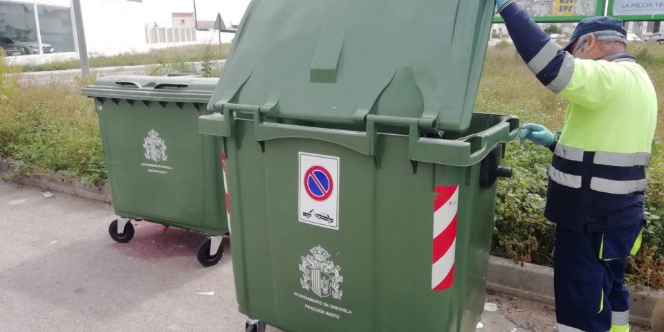 Comienza la colocación de nuevos contenedores en Orihuela Costa y pedanías 6