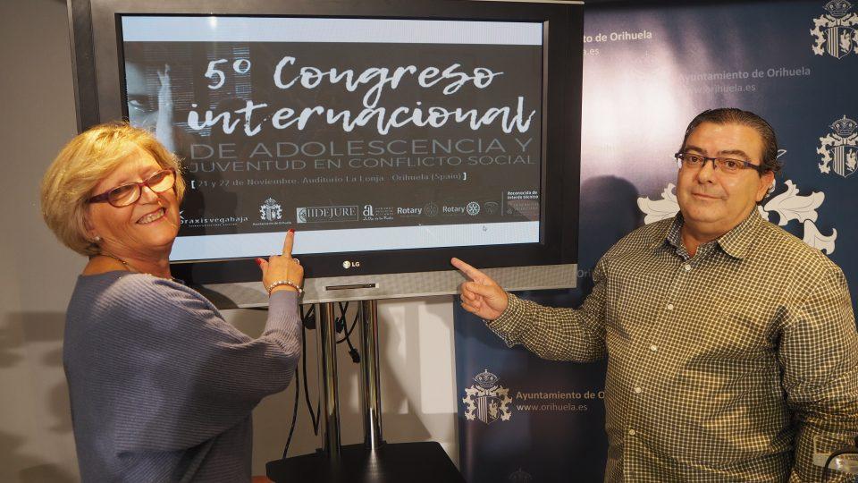 Orihuela acogerá el Congreso Internacional de Juventud y Adolescencia con conflicto social 6