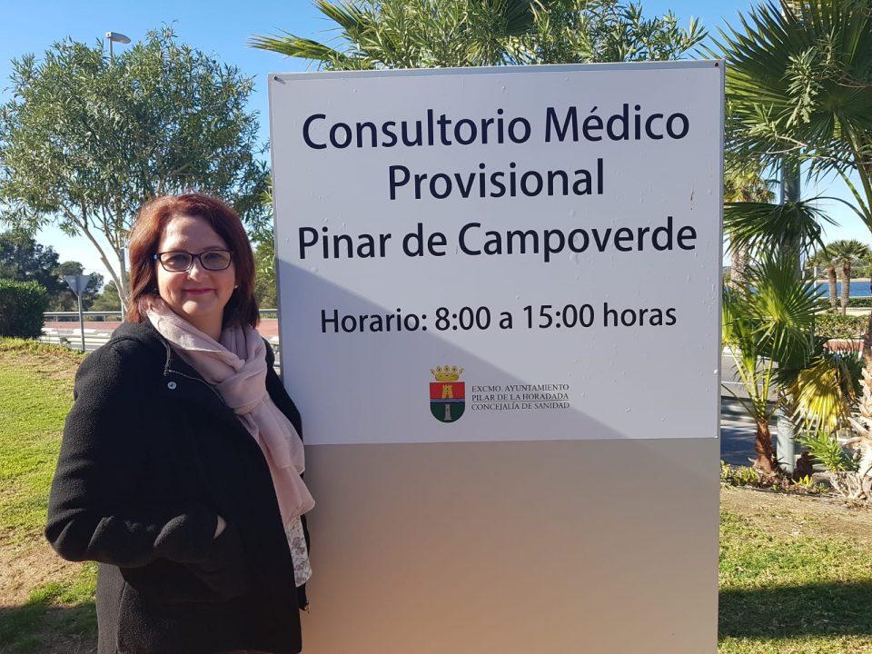 Entra en servicio el consultorio médico provisional de Pinar de Campoverde 6