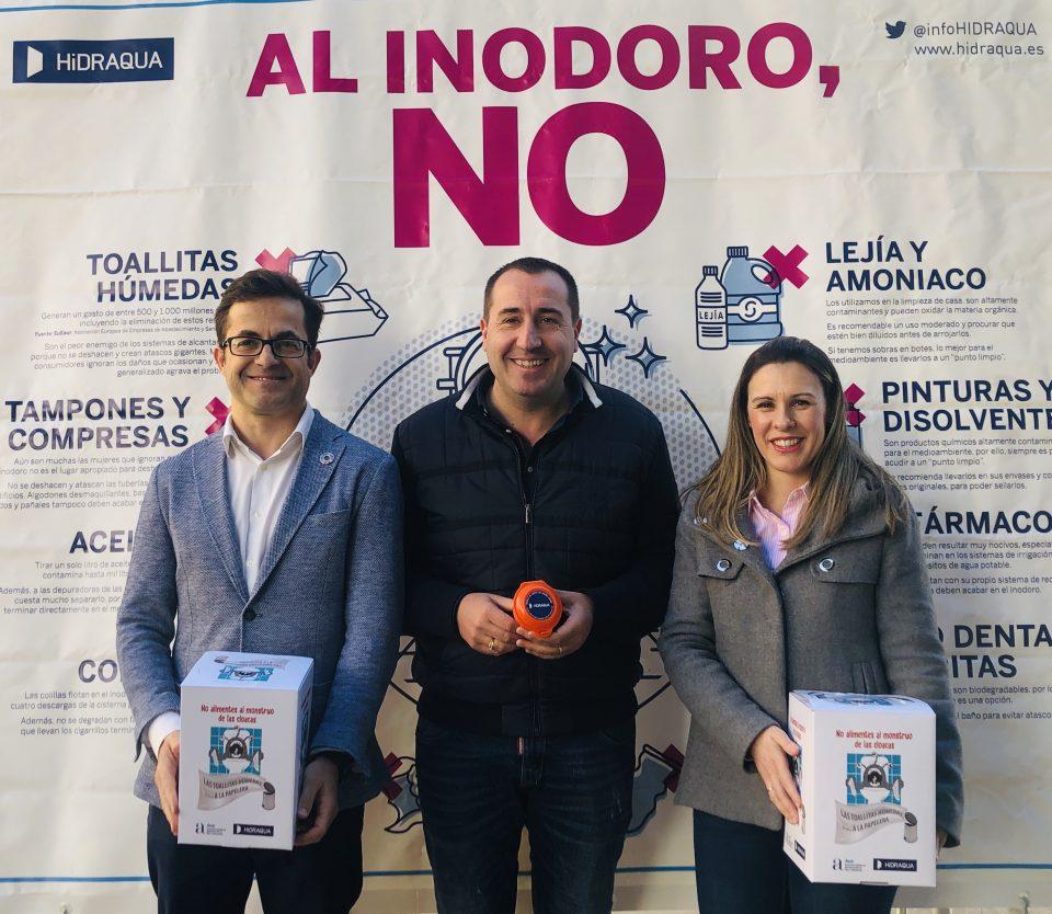 Cox e Hidraqua lanzan una campaña de sensibilización del buen uso del inodoro 6