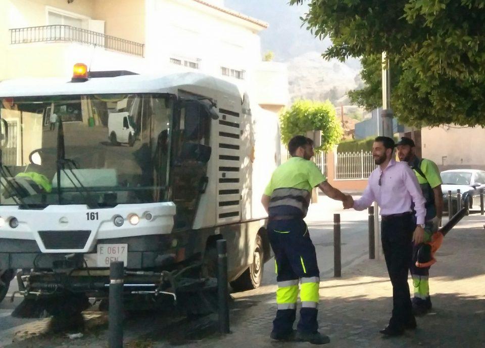 Limpieza Viaria refuerza la plantilla con 13 nuevos trabajadores 6