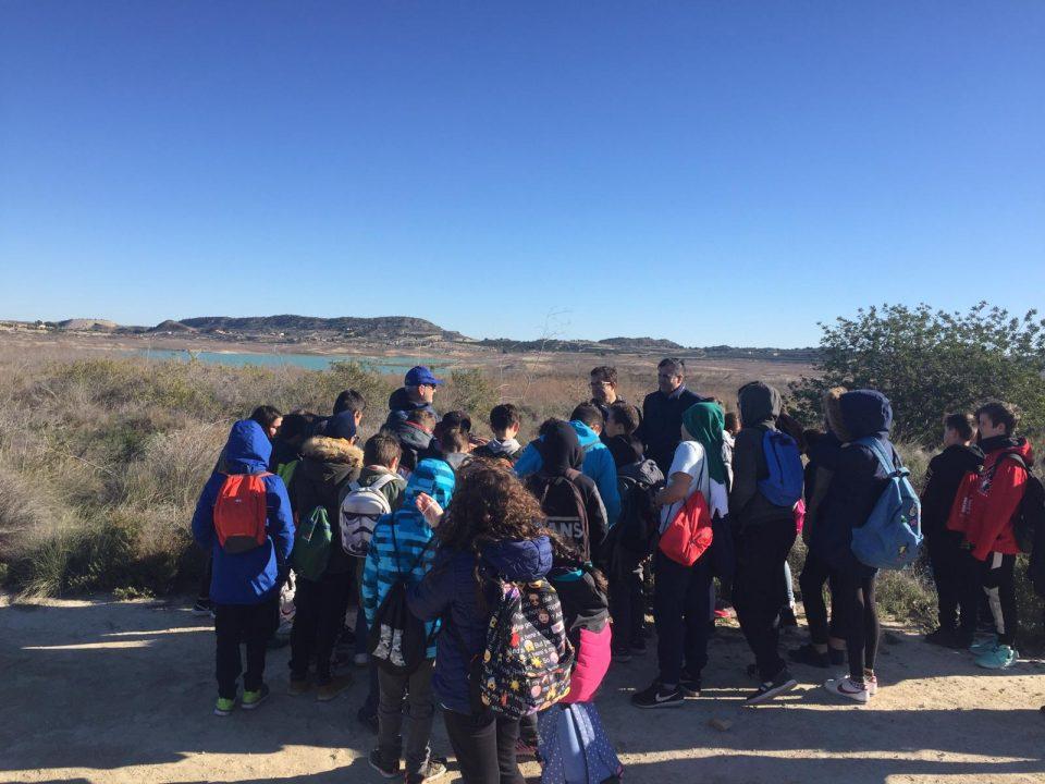 Cien escolares celebran el Día Mundial de los Humedales con una visita a la Pedrera 6