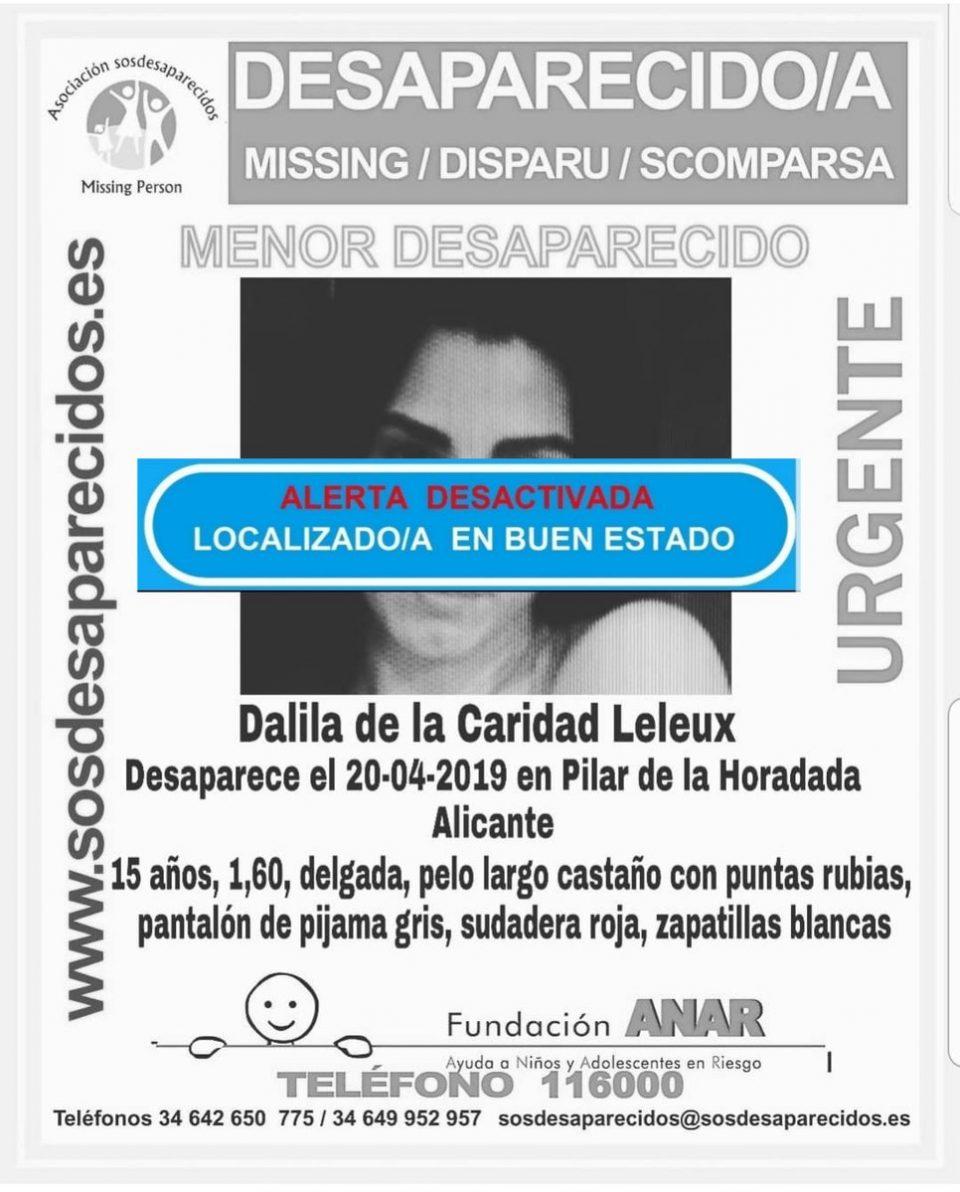 Aparece la joven desaparecida en Pilar de la Horadada 6