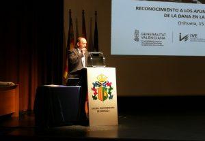 La Generalitat reconoce a los ayuntamientos de la Vega Baja su colaboración en la gestión de la DANA 7
