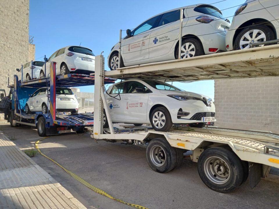 El Dto. Salud de Orihuela adquiere una flota de coches eléctricos para la Unidad de Hospitalización a Domicilio 6