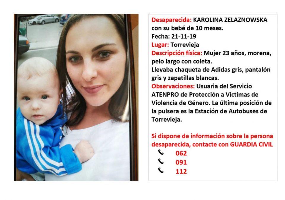 La Guardia Civil desactiva la búsqueda de la mujer desaparecida con su bebé 6