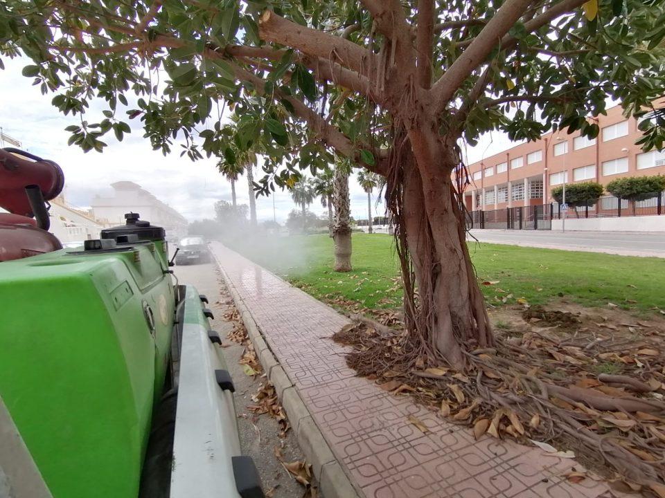 Torrevieja intensifica los trabajos contra la plaga de mosquitos 6