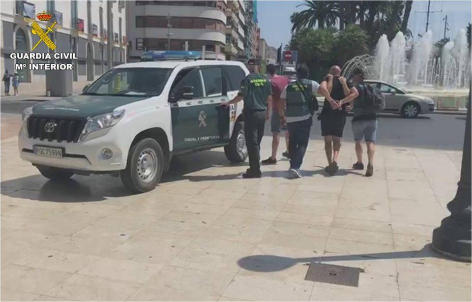 Detenida una banda narcotraficante con un grupo asentado en la Vega Baja 6
