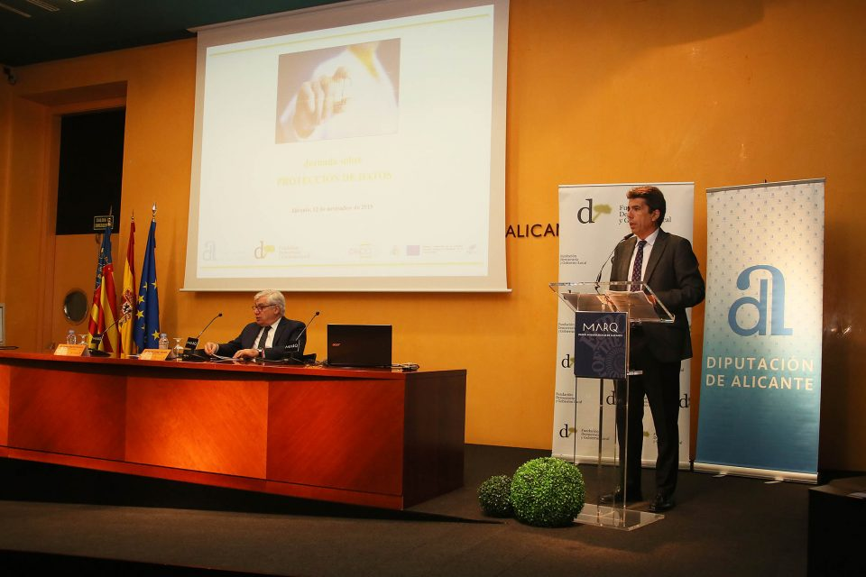 La Diputación facilita la aplicación de la nueva ley de Protección de Datos 6