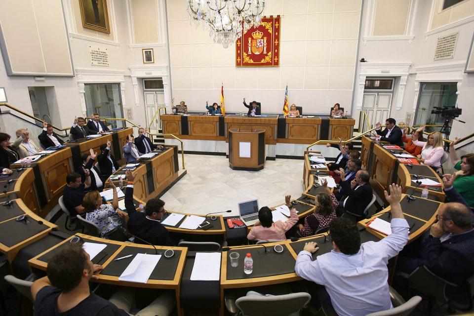La Diputación aprueba por unanimidad que las Cortes y el Congreso investiguen la gestión de la CHS 6