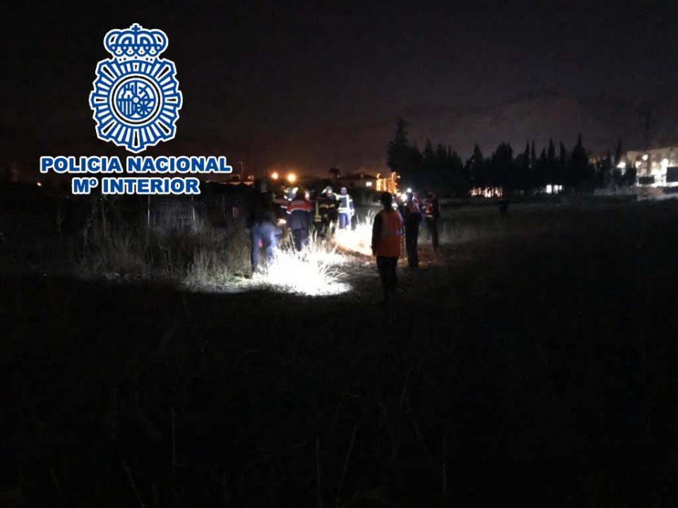 Localizan e ingresan en el hospital a un desaparecido en Orihuela 6