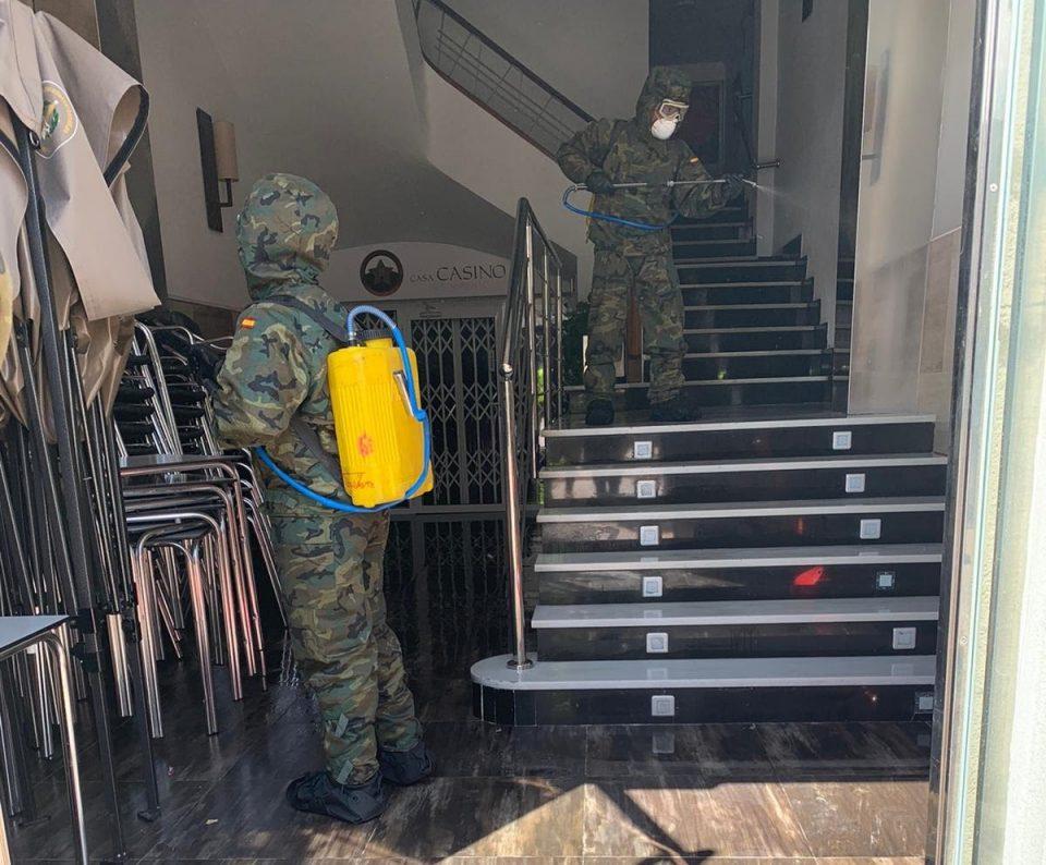 El Mando de Operaciones Especiales del Ejército lucha contra el COVID-19 en la Vega Baja 6