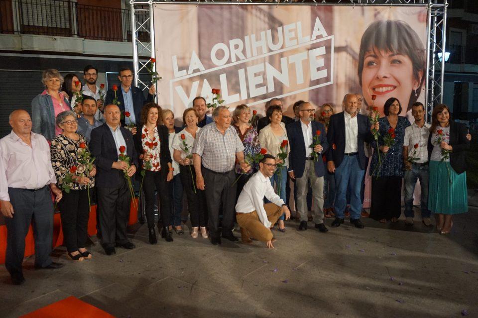 """El PSOE de Orihuela presenta a sus 25 """"valientes"""" 6"""