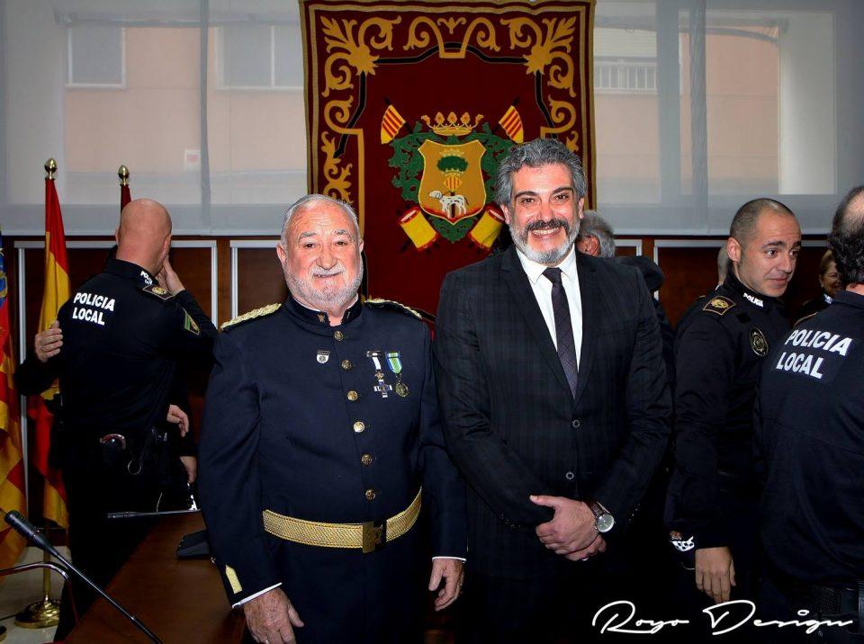 """Jesús Filomeno Adsuar distinguido """"Decano"""" de la Policía Local de Callosa 6"""