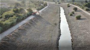 La CHS realiza labores de mantenimiento del río en Benejúzar 10