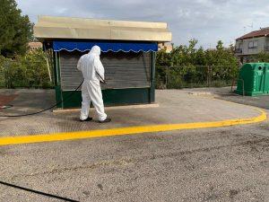 La Vega Baja desinfecta sus calles 10