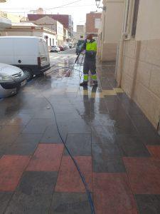 La Vega Baja desinfecta sus calles 11