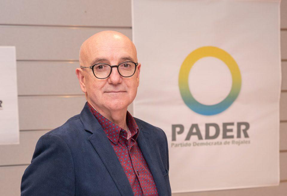 Desiderio Aráez repite como cabeza de lista de PADER 6