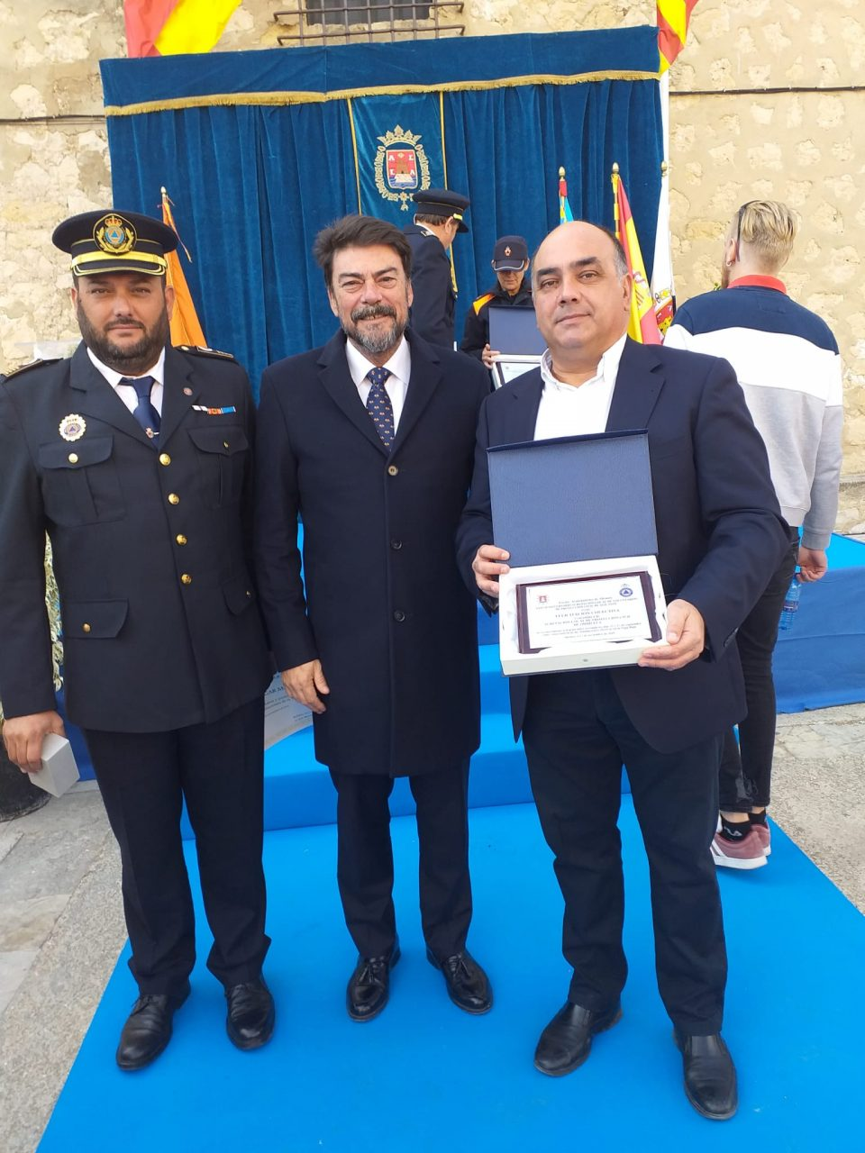 Protección Civil de Orihuela recibe un reconocimiento por su labor durante la DANA 6