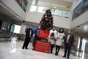 El Hospital de Torrevieja dona 6.000 kilos de productos de necesidad a Alimentos Solidarios 7