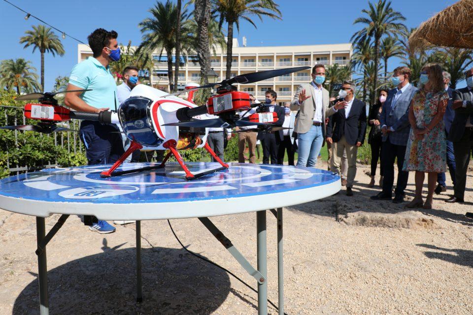 Drones para frenar ahogamientos en Guardamar 6