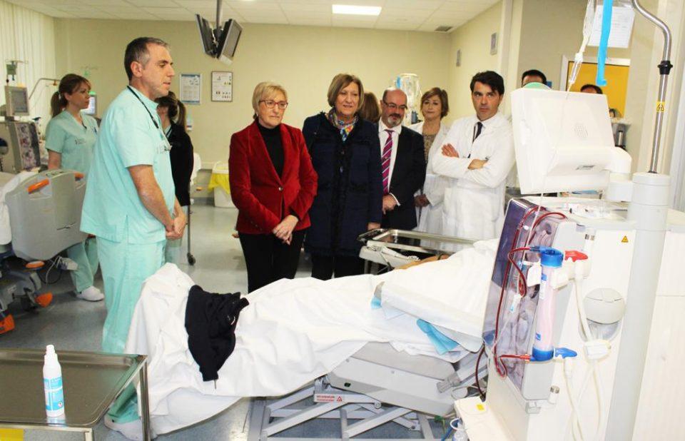 Ana Barceló visita en Nochebuena el Hospital Vega Baja y el de Torrevieja 6