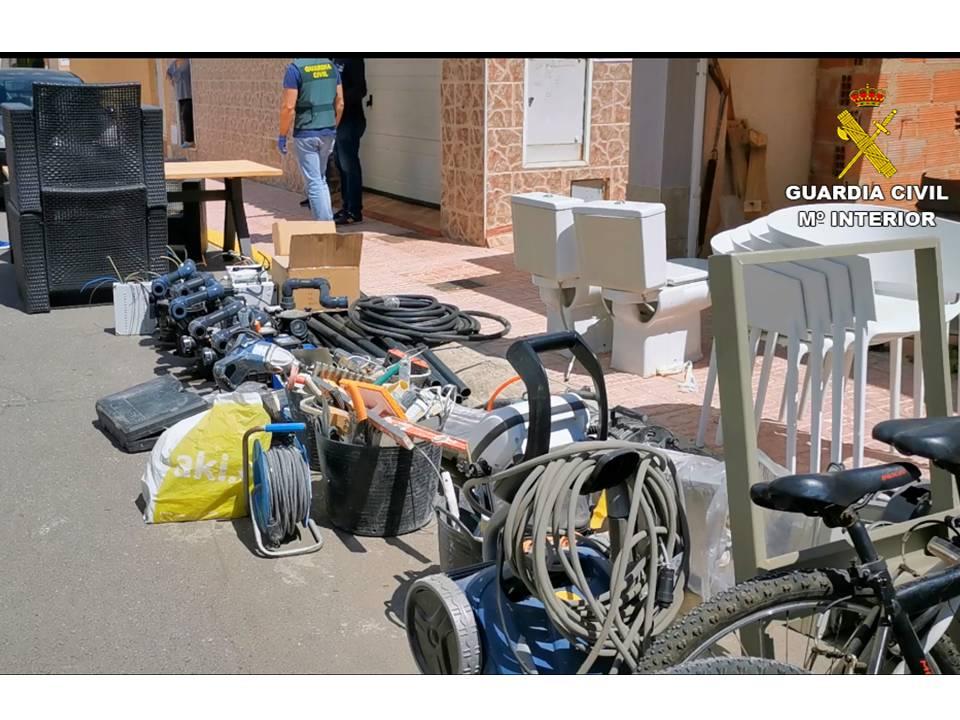 Detenido un vecino de Torrevieja que se saltó el confinamiento para robar en una obra 6