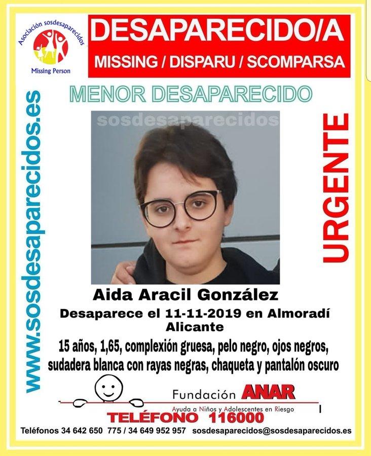Desaparecida una joven de Almoradí 6