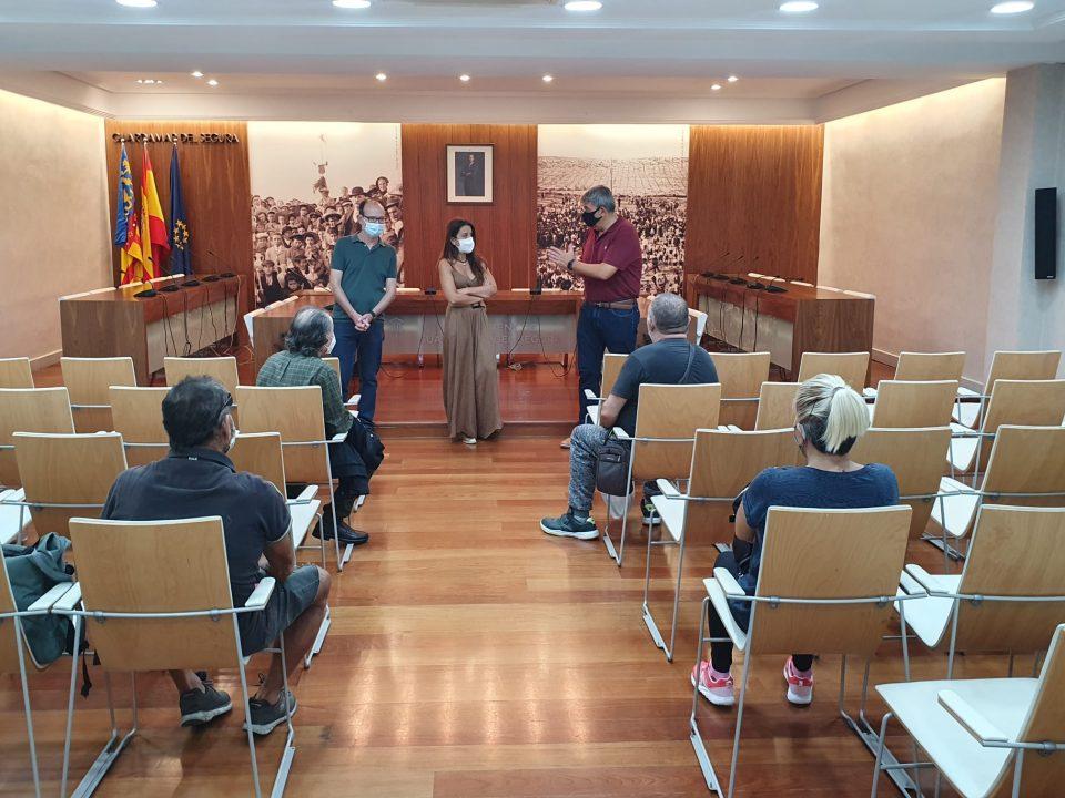 El Ayuntamiento de Guardamar contrata a cuatro personas gracias a una subvención del LABORA 6