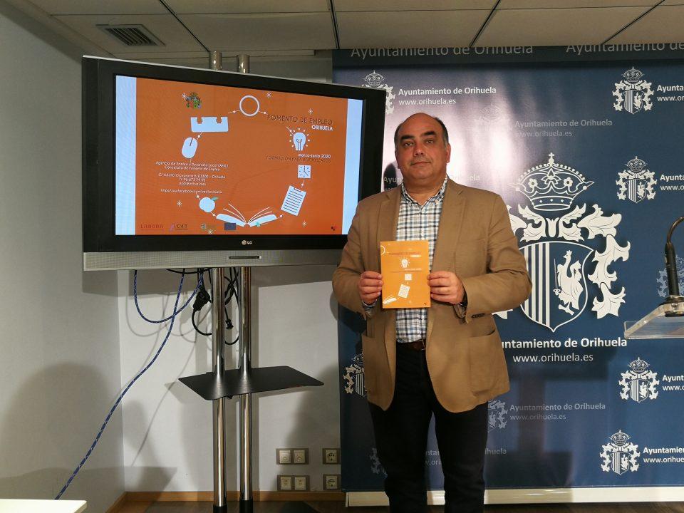 La concejalía de Empleo de Orihuela presenta los cursos de formación 6