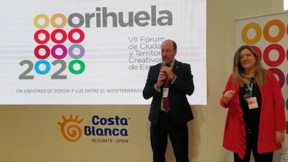 Orihuela acogerá en mayo de 2021 el VII Fórum de Ciudades y Territorios Creativos de España 6