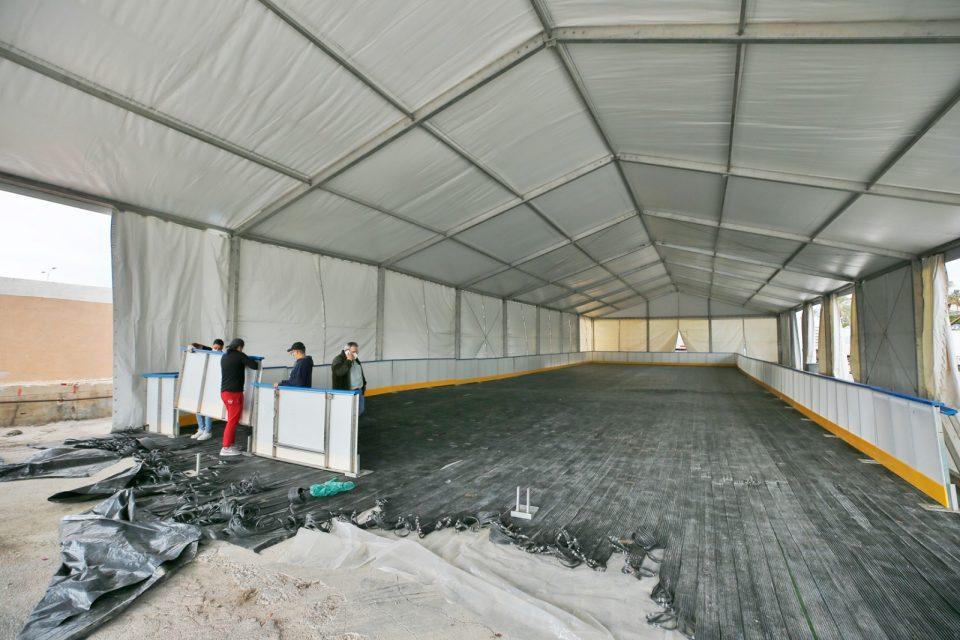 Torrevieja contará con una pista de hielo natural estas navidades 6