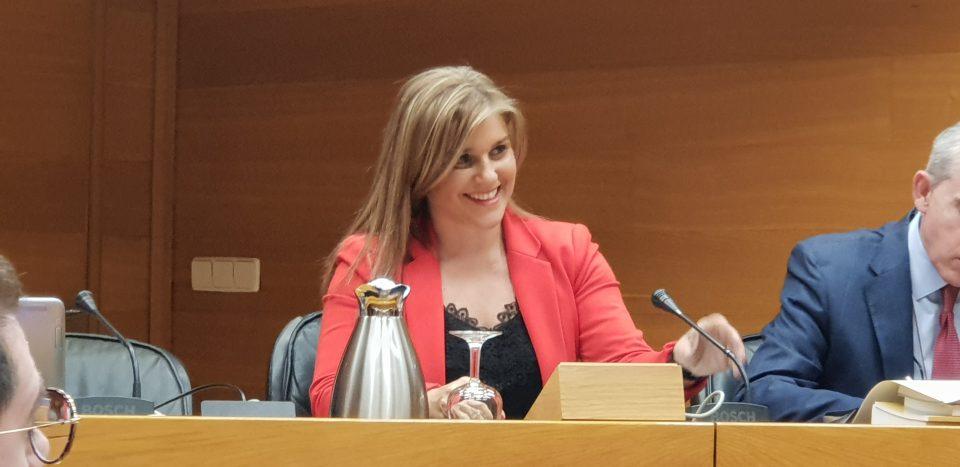 La presidenta del GPP, Eva Ortiz, pide al Consell un bono luz para pymes 6