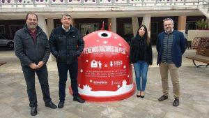 Orihuela y Guardamar se suman la campaña navideña de reciclaje de vidrio 8