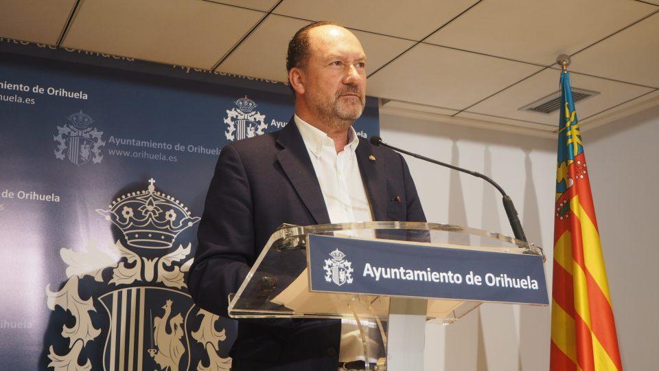 Bascuñana anuncia la creación del Consejo Cívico para la Recuperación Social y Económica de Orihuela 6