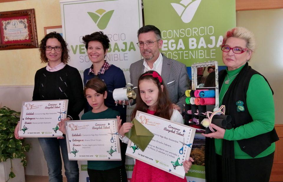 Vega Baja Sostenible entrega los premios del primer concurso infantil sobre reciclaje 6