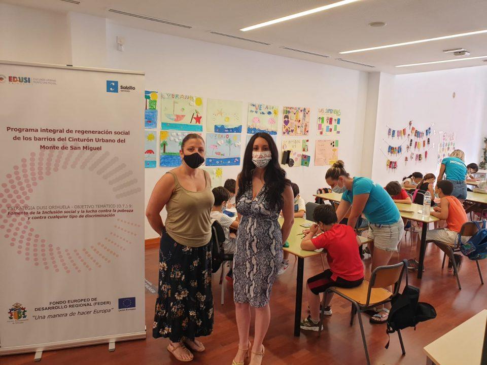Bienestar Social de Orihuela continúa con sus programas de inclusión con la 'Escuela de Verano' 6