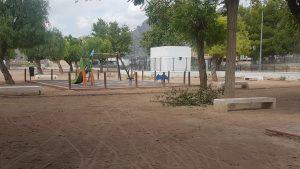 El PSOE de Orihuela exige reforzar la limpieza y reparación de los parques infantiles 8